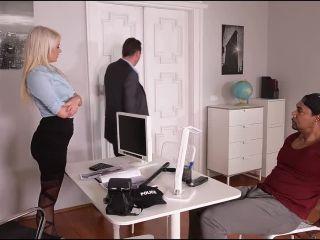 Layla Price – (HandsOnHardcore - DDFNetwork) – Hardcore Interrogation: Squirting Blonde Double Penetrated