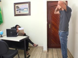 Porn online [Femdom 2018] MFX FOOT FETISH – Foot worshipping at the office – Full Version. Starring Alana and Leandro [Footworship, Footlicking, Foot Licking, Foot Worship] femdom