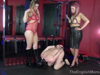 Degradation – The English Mansion – Double Dungeon Dominance – Complete Film – Mistress Nikki and Mistress Sarah Jessica