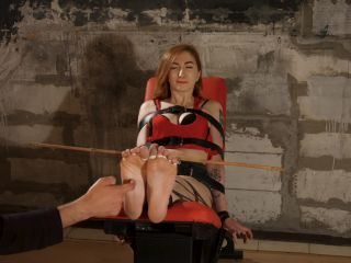 Tickling – Russian Fetish – Mora – Severe foot tickle torture on russian gyno exam fetish