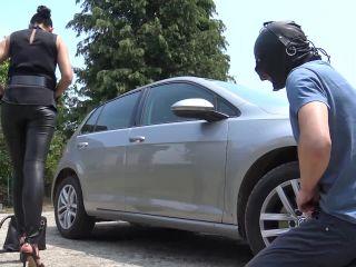 Car Wash Slave [Domina-Movies] Madame Catarina (720p) | domina-movies | fetish porn fetish wife