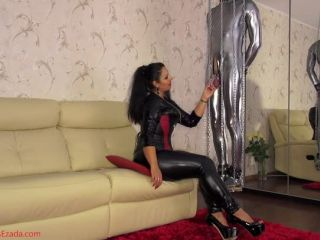 Mistress Ezada Sinn Teasing After Erection Pill Slave