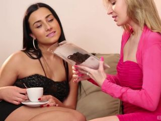 792 - My First Lesbian Experience Scene 3 - Angel Piaff, Ana Rose