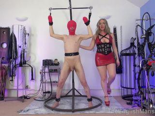Predicament Bondage – The English Mansion – Bound CBT – Part 1 – Mistress Sidonia on gangbang bdsm xxxx