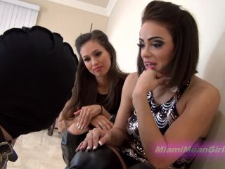 Humiliation – THE MEAN GIRLS – Sex For Losers – Goddess Rodea and Princess Carmela