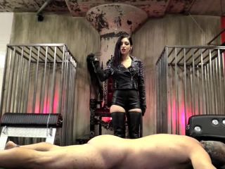 Suffering – DomNation – TWO WHIPS FOR TWO ASS CHEEKS Starring Mistress Cybill Troy