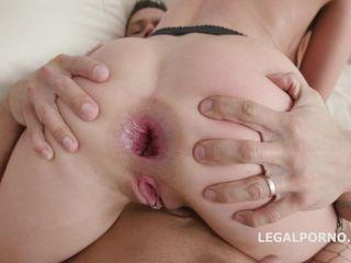 LegalPorno presents 3on1 Balls Deep with Renata Fox DP, DAP, TP, Gapes, Cum Swallow GIO874 —
