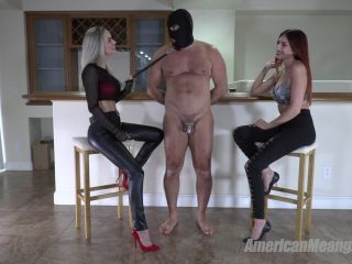 The Mean Girls – Goddess Platinum, Princess Mia – Cum Sunday (1080 HD) – Forced Orgasm – Male Cum Swallowers, CEI, superheroine femdom on feet