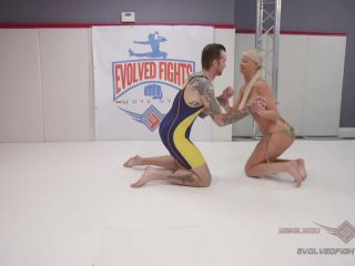 evolved fights: march 26, 2019 – london river, will havoc/blonde stripper has trouble handling a man