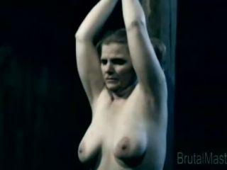 Porn online Brutal BDSM Runt – Post Tit Torture (200513)