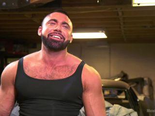 Beefy mechanic taken down | muscle | toys opulent fetish