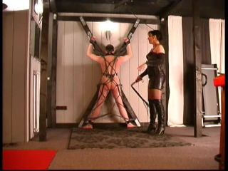Lady Eviana -The Fetishdomina – BULLWHIP TEST – Flogging, Bondage on bdsm porn porn full hd bdsm