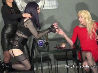 Online tube Dirty Trans Dolls – Sasha's obedient sissy slave part 1. Starring Sasha de Sade, Fetish Liza and Natalie Goth TV
