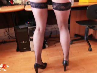 hardcore foreplay Sexy Cleaning Lady Sucking Dick and Rough Sex – Cumshot POV, popular with women on amateur porn