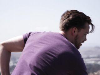 gay leather fetish brunette | Burning Angel - Jessie Lee | clips
