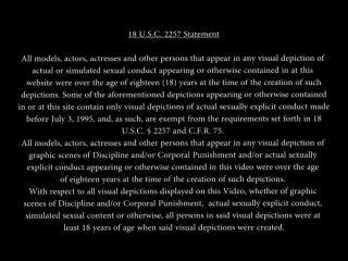 Weak slave's spanking