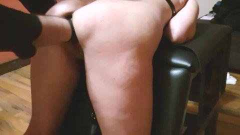 Lucia - BDSM fist fucking orgasms (720p)