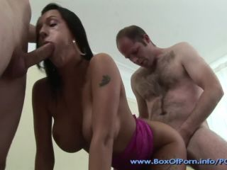 Big tit british whore chantelle fox fucks 2 oldern