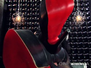 High Heels – Mistress Nikita FemDom Videos – Obey Nikita – My Boot Wipe
