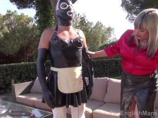 The English Mansion – A Maid in the Sun – Part 1-3. Starring Lady Nina and Mistress Sidonia