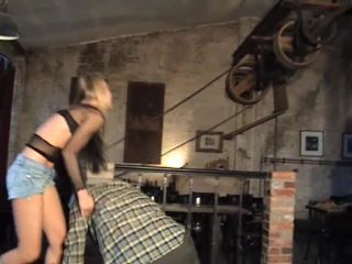 German Goddess Femdom Fighting – Lucy – Blonde Negotiation