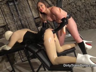 Online porn - DirtyTransDolls presents Yasmin Scott in Yasmin Fucks her Rubber Doll femdom