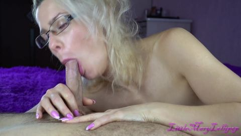 Milf rests on steptson's cock after oral creampie-LittleMaryLollipop