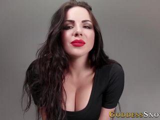 Online tube Goddess Alexandra Snow - CumAholic Training - CEI
