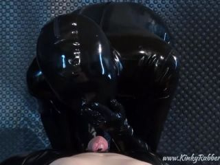 Latex Porn – 7623 – The Blind Rubbergirl Is Riding