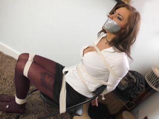 Beautiful girl related, enjoy helplessness Bondage