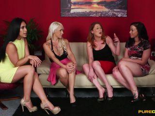 Purecfnm –  Christina Shine, Hannah Shaw, Princess Paris, Rebecca Brooke – Reverse Bukkake