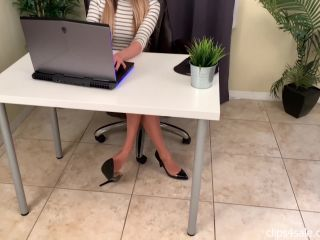 Bratty Babes Own You - Naomi Swann Caught Staring At Secretary Feet Footjob Blackmail   babes   femdom porn princess beverly femdom