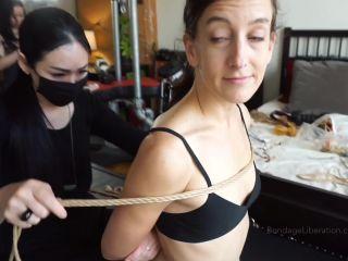 Bondage Liberation: February 26, 2021 – Elise Graves, Hinako, Chiaki In Hog Heaven – Hair Pulling BDSM Japanese