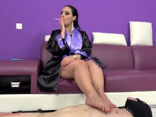 nina fetish Mistress Ezada Sinn – To serve and be useful – the task of a House of Sinn slave – Foot Worship – Footworship, Human Furniture, smoking on femdom porn