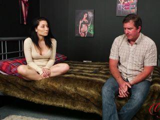 Lady Voyeurs - Rina Ellis | brunette | femdom porn femdom in public
