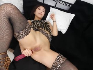 Asian girl anal belly bulge