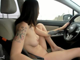 women anal fisting Public Fingering and Driving – Rhea Sweet, fingering on public