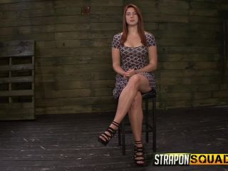 Mila Blaze Torments Rose Red with Strapon Dildo, Sybian, and Rough Sex