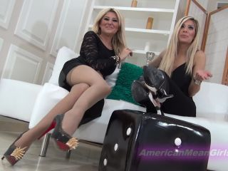 Online femdom video The Mean Girls - The mean sisters - condensed