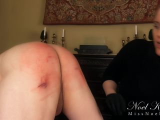 Miss Noel Knight - New Slave Gets Used!!!
