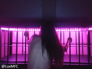 Online femdom video Lux Neon - Bratty slave begs and seduces for freedom