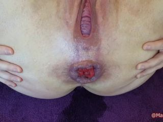 Violet Buttercup - Custom - Object stuffing and prolapsing