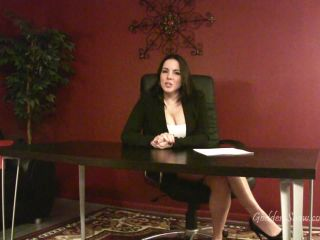 goddess alexandra snow - caught by the boss