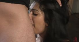 Yes Daddy, Fuck My Ass: New Girl Carolina Cortez Submits to Mr. Pete