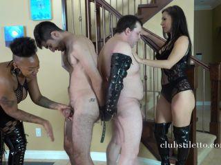 ClubStiletto - Miss Jasmine, Goddess Koi - Ballbusting Withdrawals on fetish porn feeder fetish