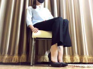 Chinese office lady femdom
