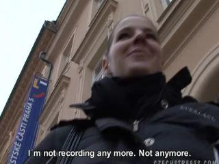 Czech Streets - Mrs. Jitka really needs the cash