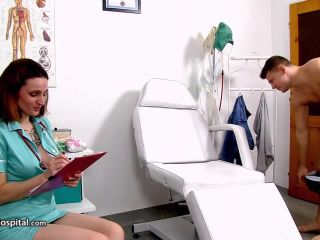 milf - SpermHospital presents Tora in Hot Czech redhead milf doctor Tora sucking big dick