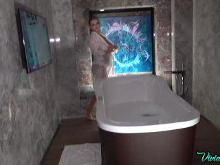 VivianBlush/3waSonnet - Vivian Blush - Rate My Big Bathing Boobs  - erotic - solo female