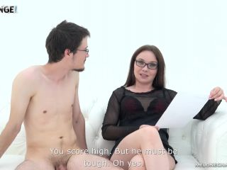 Two newbies look like losers attempting to get their boners going